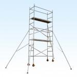 Aluminum Scaffolding Single Width Tower