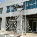 Aluminium Scaffolding - Staircase Tower