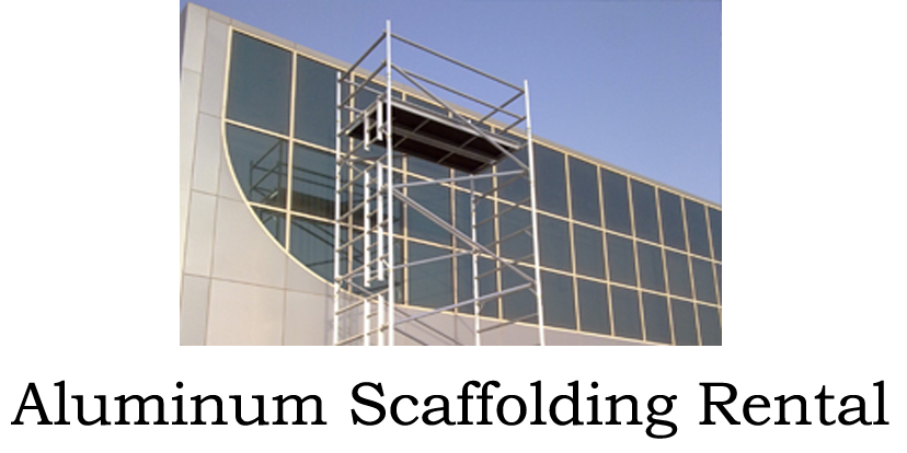 Where To Rent Scaffolding : Aluminum scaffolding steel dubai uae